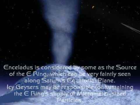 Saturn's moon Enceladus  (AggManUK)