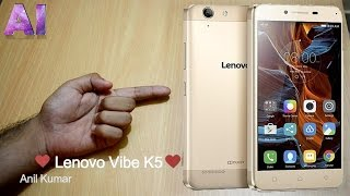New Lenovo Vibe K5 (Gold) Quick Review & Un-boxing