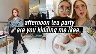 Fancy Afternoon Tea Party, Flower Workshop, Are You Kidding Me IKEA…   DTV #65