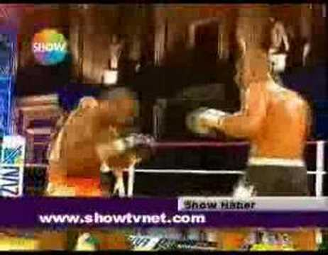 A1 Kick Box Orhan Dogan-Head Hunter  23/ 06 /2007 Show Tv