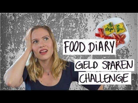 FOOD DIARY | Schaffe ich es, unter 20 € / Woche gesund zu essen?