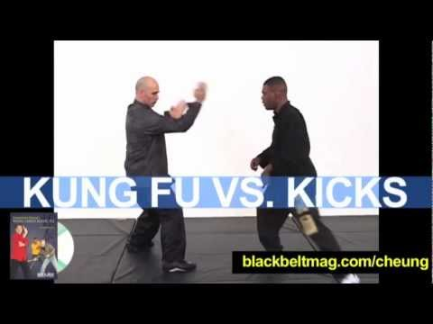 Kung Fu Techniques: Kick Defenses By Eric Oram, Senior Disciple of William Cheung Image 1