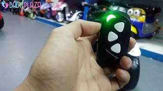 Xe mô tô điện trẻ em BRJ-675 3 bánh sáng đèn, Remote - BABY PLAZA