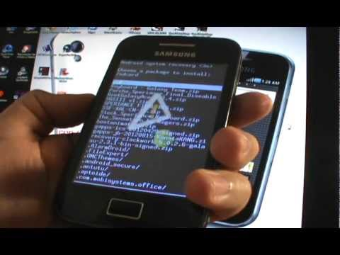 Como instalar el Root y Recovery (CWM) - Galaxy Ace S5830/B/L (EspañolMX)