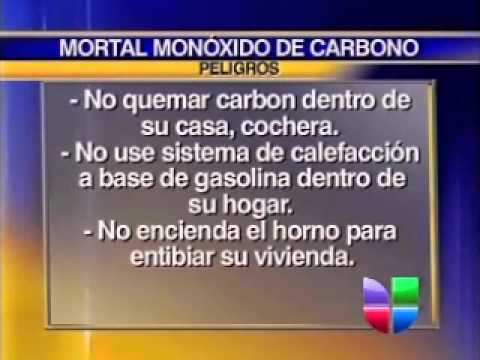 Advertencia por Inhalación de Humo