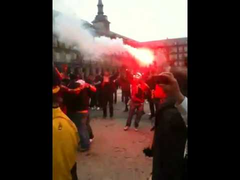Opera Mayor Plaza, Galatasaray - atletico madrid,  Mesaleee!!!