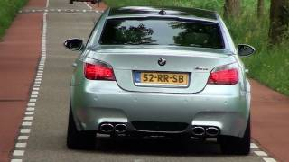 BMW M5 E60 V10 sounds - Hamann, Eisenmann & Manhart Racing; 1080p HD
