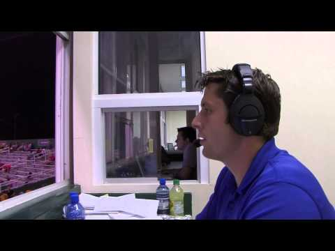 Minor League Baseball Announcer Calls the Play-by-Play (637)