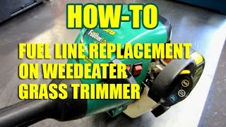 DIY - Weedeater Fuel Line Replacement