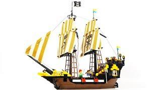 Enlighten Brick 307 pirate ship - Speed Build