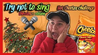Try Not To Sing Challenge w/Hot Cheetos||Vlogmas Day 1