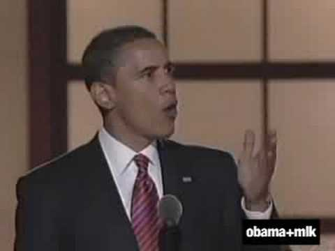 martin luther king i have a dream barack obama yes we can