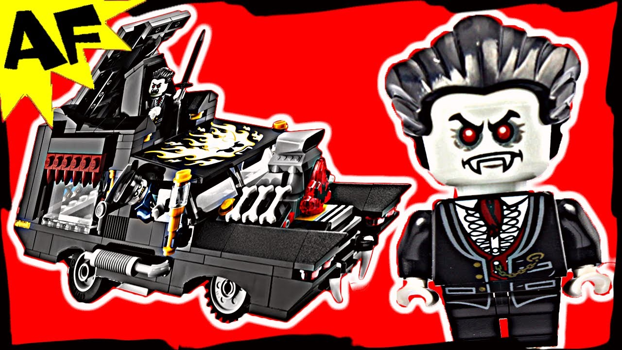 Vampyre Hearse Review Vampyre Hearse Lego Monster