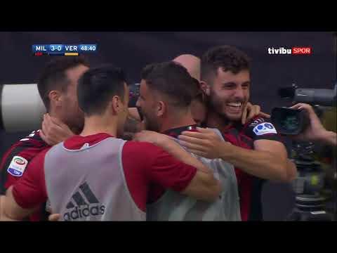 Serie 36. Hafta | Milan 4-1 Hellas Verona Maç Özeti