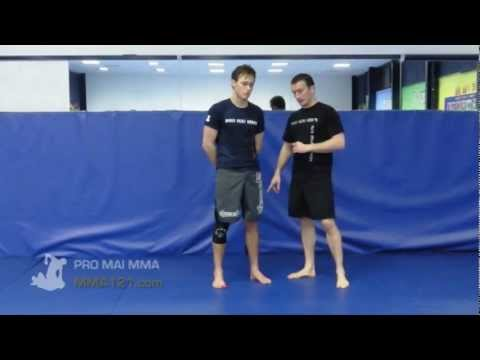 MMA 121 - Single / Double Leg / Hip Takedown Set Up Series Image 1