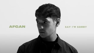 Download lagu Afgan - say i'm sorry ( MV)