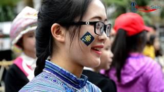 University of Hanoi Vietnam Hmong Students #1 Tub ntxhais  kawm sib tw kev vam meej
