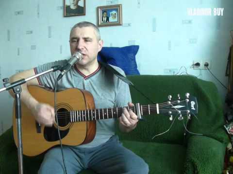 А лето цвета неба под гитару из репертуара Юрия Шатунова под гитару