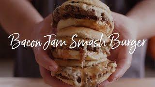 Bacon Jam Smash Burger | Chef Tom's South Beach Wine and Food Festival Recipe