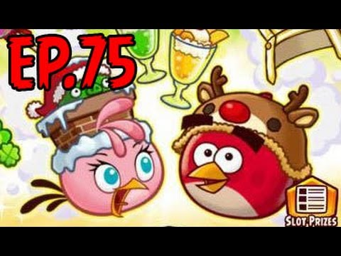 Angry Birds Fight!-PERFECT COMBO QUEST-HAPPY HOLIDAYS! - LUXURIOUS CAMERA and STAR SHURIKEN - EP75