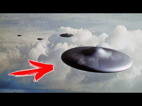 Шок! НЛО пролетел прямо над головой!!! Реальная съемка 2017 HD (UFO)