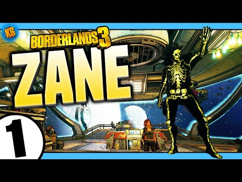 Borderlands 3 | Zane | Road to Mayhem Day #1 - Funny Moments & Legendary Loot