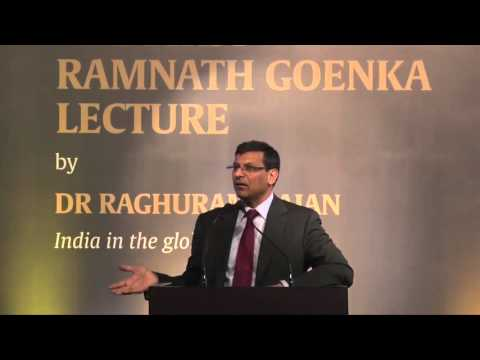 RBI Governor Raghuram Rajan Delivers The First RNG Lecture