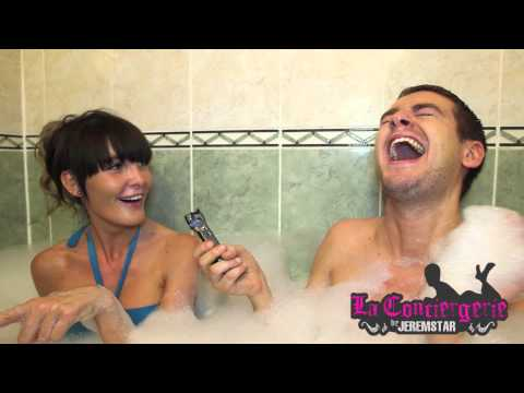 Marie Garet (Secret Story/Les Anges) dans le bain de Jeremstar - INTERVIEW