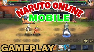 [ANDROID/IOS] NARUTO ONLINE MOBILE / GAMEPLAY