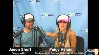 Paige Hemmis and Jason Short talk Wedding Day with On Air With Tony Sweet