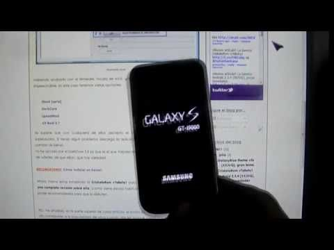 Cómo instalar un kernel (Android) GalaxyS i9000