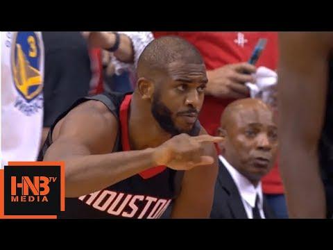 Golden State Warriors vs Houston Rockets 1st Half Highlights / Game 5 / 2018 NBA Playoffs