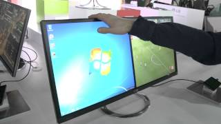 LG EA93 21_9 Aspect Ratio 29 IPS LCD Monitor - Linus Tech Tips CES 2013