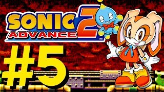 Sonic Advance 2 - Leaf Forest & Hot Crater (Cream)