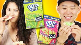 People Try Jolly Rancher Pop-Tarts