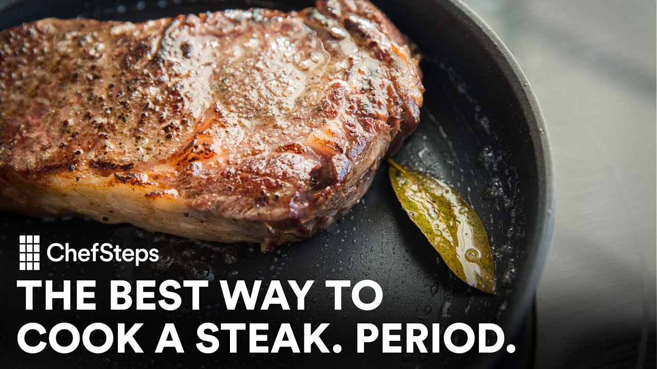 [You Want a Perfect Steak? Do This] Video