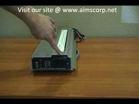 1500 Watt Power Inverter with Charger and Built-in Transfer Switch by AIMS