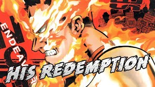 Endeavors Slow Climb To Redemption | My Hero Academia Chapter 186
