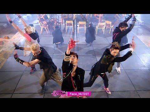 NUEST - Face 뉴이스트 - 페이스 Music Core 20120317