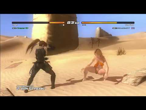 DOA 5 Ultimate Tina vs Kasumi PS3 Ranked Fight 720p