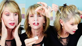 Trying Face Lifting Tape for Saggy Skin Without Plastic Surgery. Does it Work for Older Women?