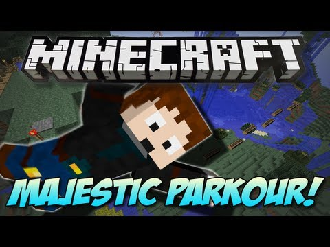 Minecraft   MAJESTIC SPRINT MAP!   Parkour
