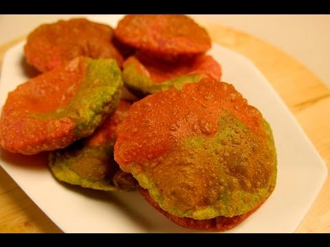 DORANGI PURI (Two Colored Puris)