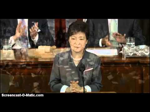 South Korean President Speech Before U.S. Congress. Part 2 From May 8, 2013