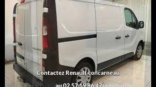 Renault trafic occasion visible à Concarneau présentée par Renault concarneau