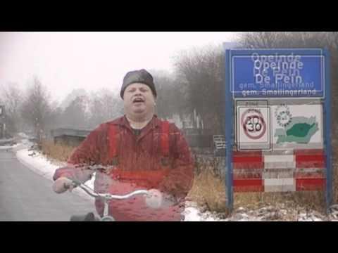 Gewoon Bram. op de fiets nei Harkema