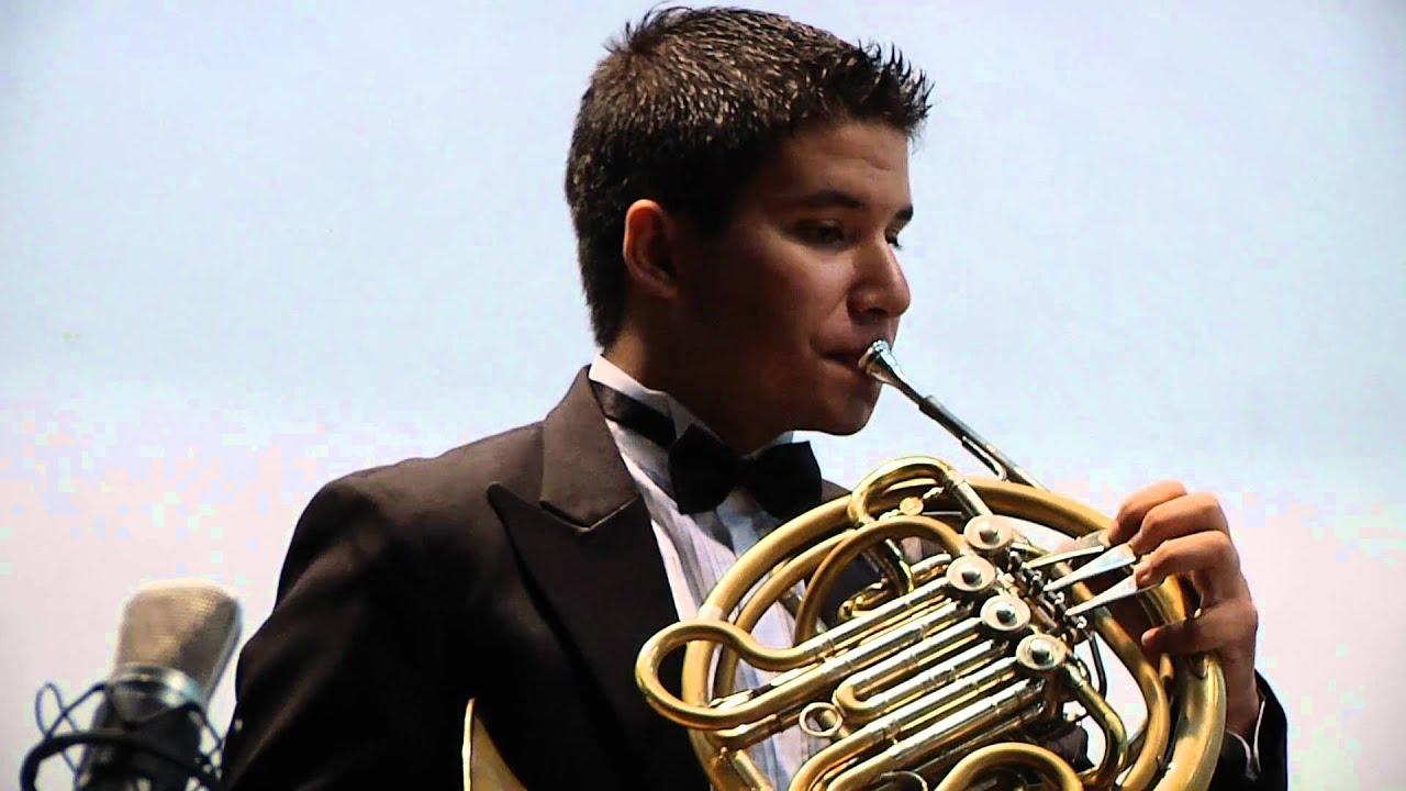 Mozart - Concerto p/ Trompa nº 3 (2º e 3º mov) - YouTube