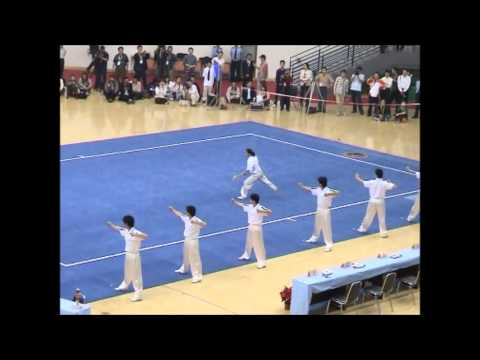 Demo of the National Chinese Wushu Team - Zhengzhou 2006 - Part 2