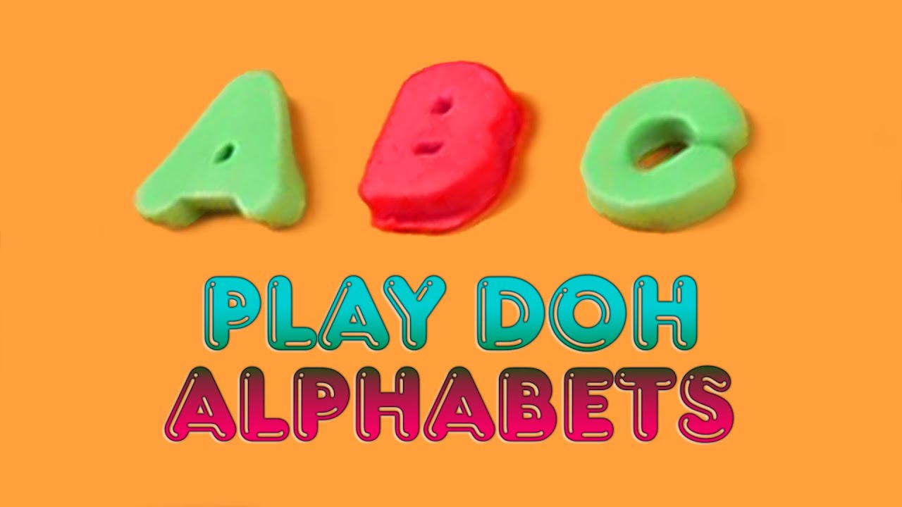 play doh abc abc song play doh phonics youtube. Black Bedroom Furniture Sets. Home Design Ideas