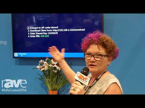 InfoComm 2016: HP Showcases HP Collaboration PC Utilizing Intel Unite